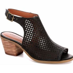 **Lucky Brand Bertel Perforated Sandals**